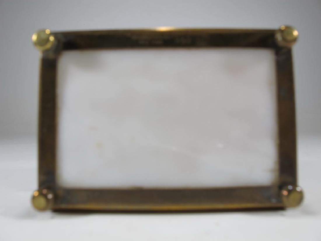 Antique Tiffany Studios bronze & glass box - 5