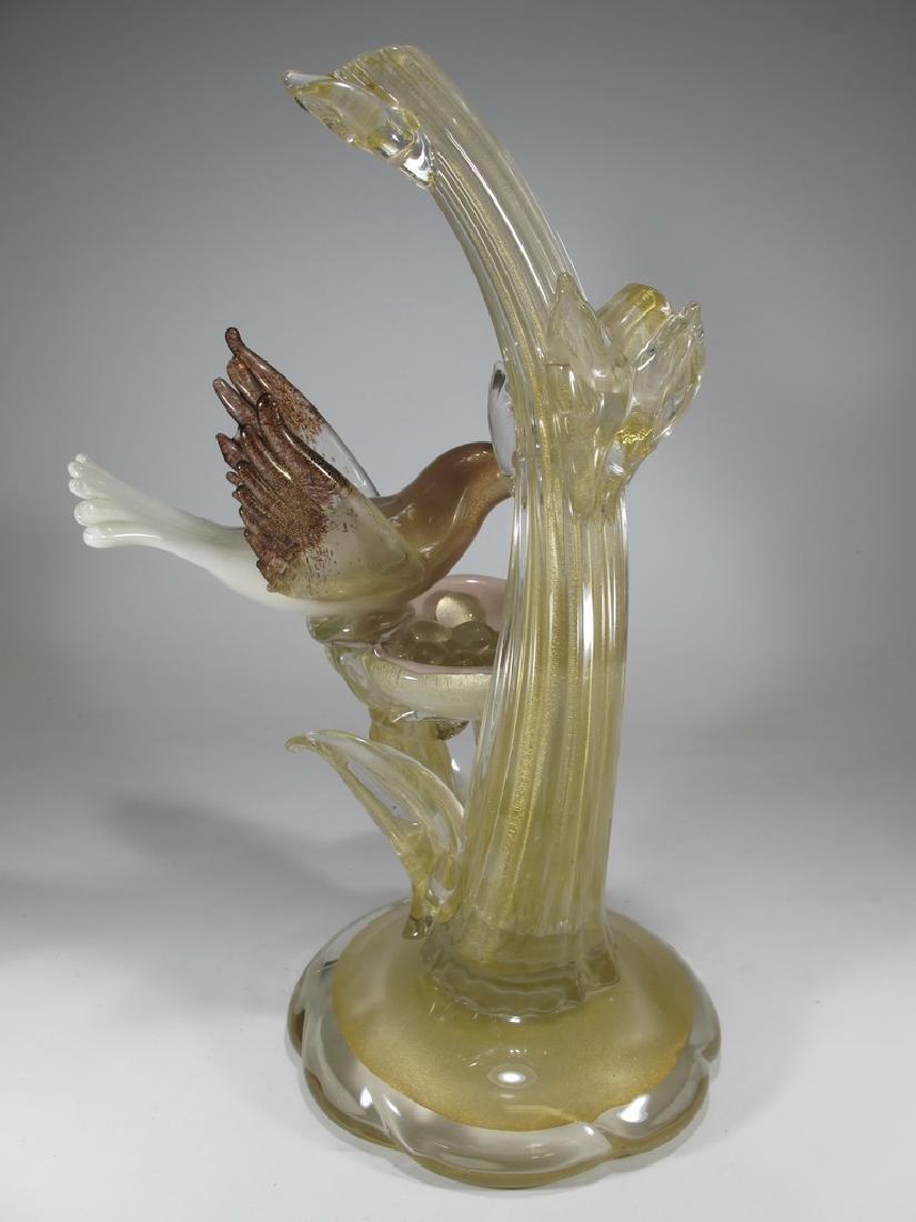 Vintage Italian Murano bird sculpture - 5
