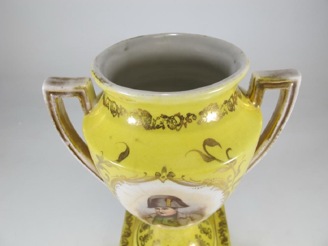 Antique Victoria Carlsbad Austria porcelain urn - 2