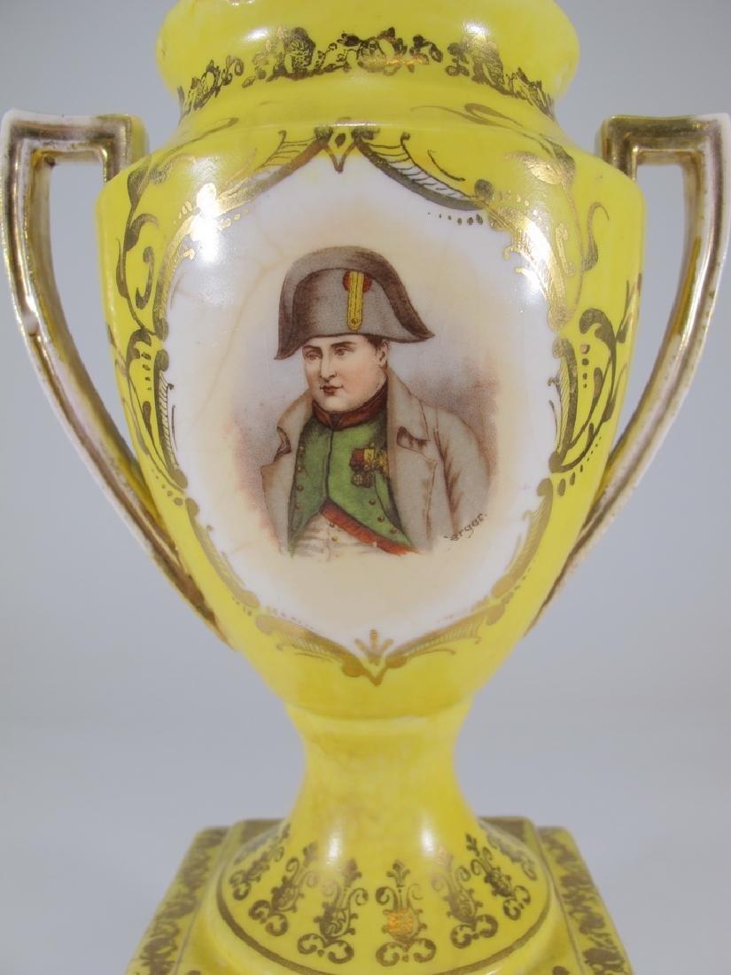 Antique Victoria Carlsbad Austria porcelain urn - 3