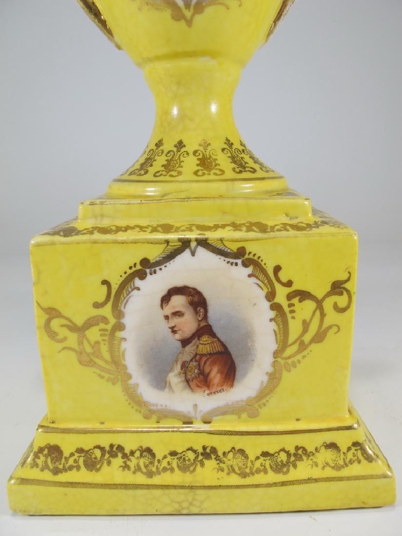 Antique Victoria Carlsbad Austria porcelain urn - 4