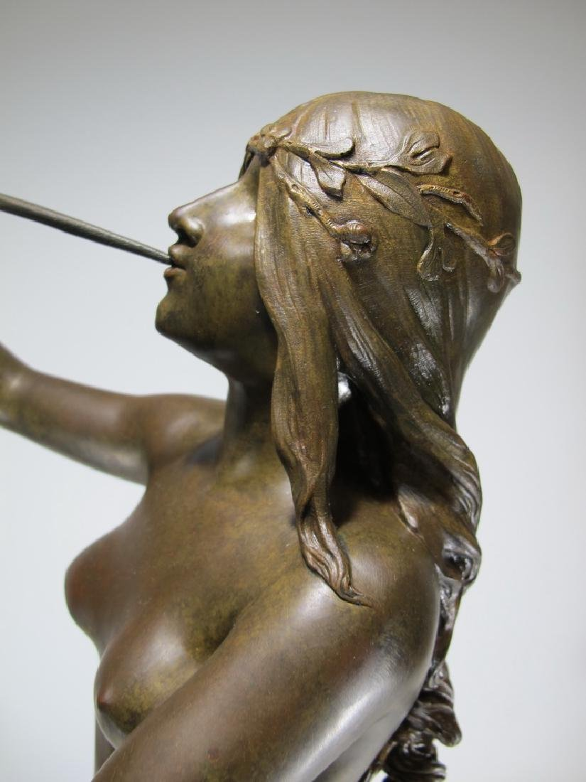 Edouard DROUOT (1859-1945) bronze statue - 10