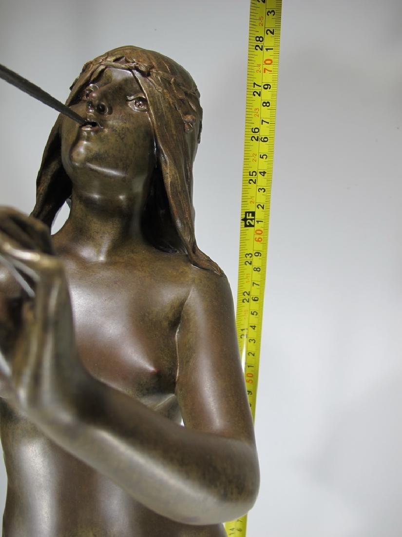 Edouard DROUOT (1859-1945) bronze statue - 2