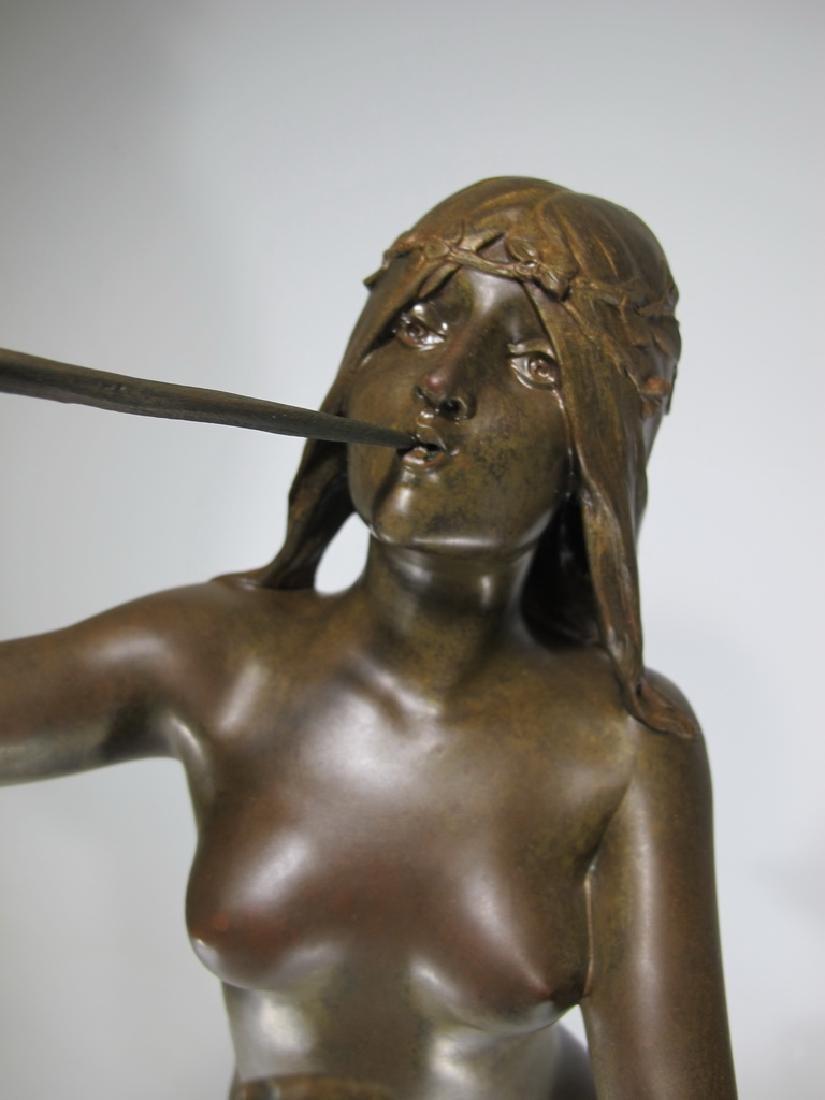Edouard DROUOT (1859-1945) bronze statue - 3