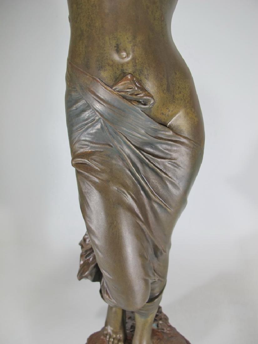 Edouard DROUOT (1859-1945) bronze statue - 4