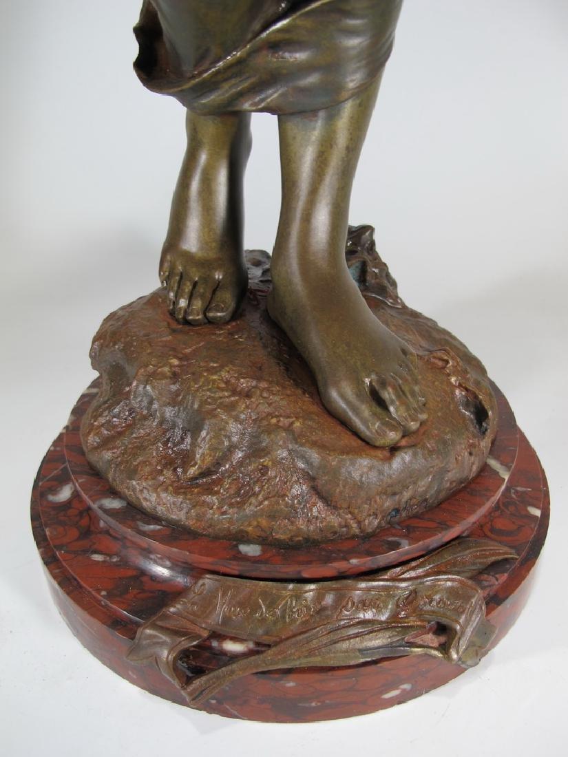 Edouard DROUOT (1859-1945) bronze statue - 5