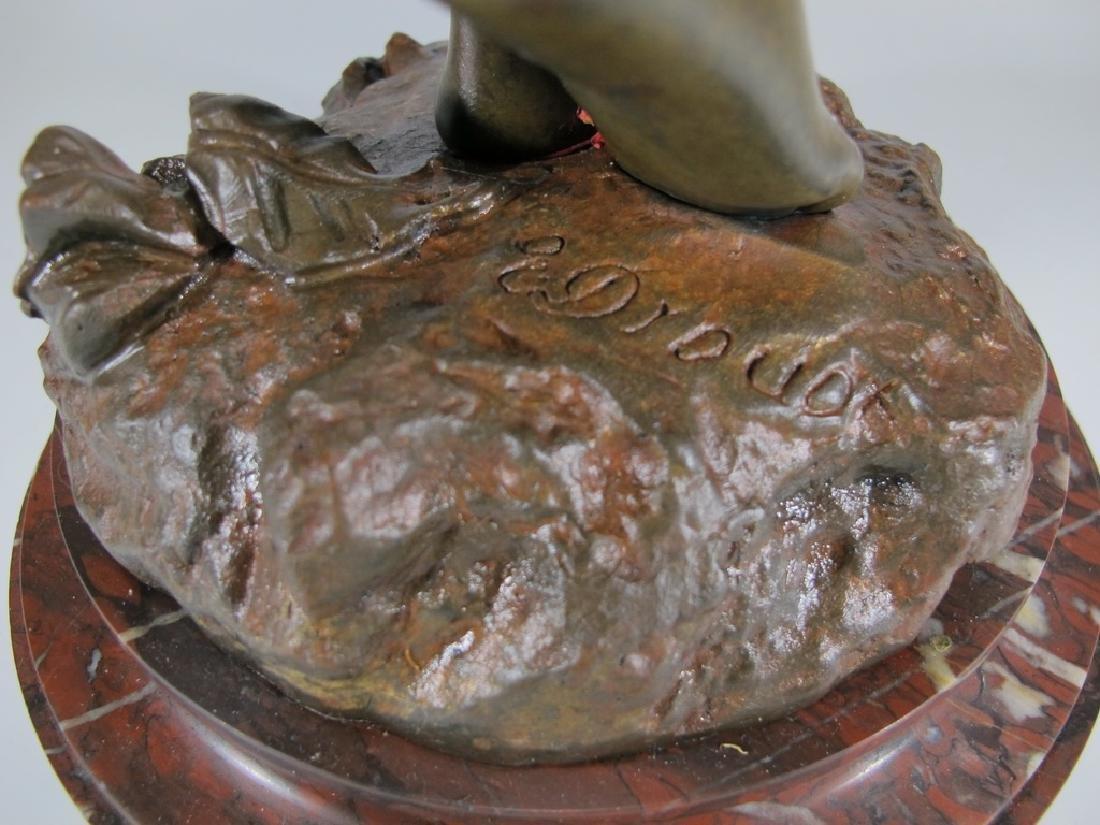 Edouard DROUOT (1859-1945) bronze statue - 7