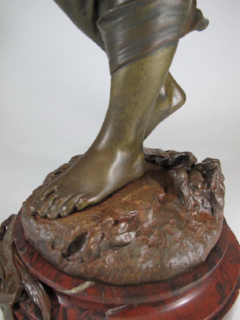Edouard DROUOT (1859-1945) bronze statue - 9