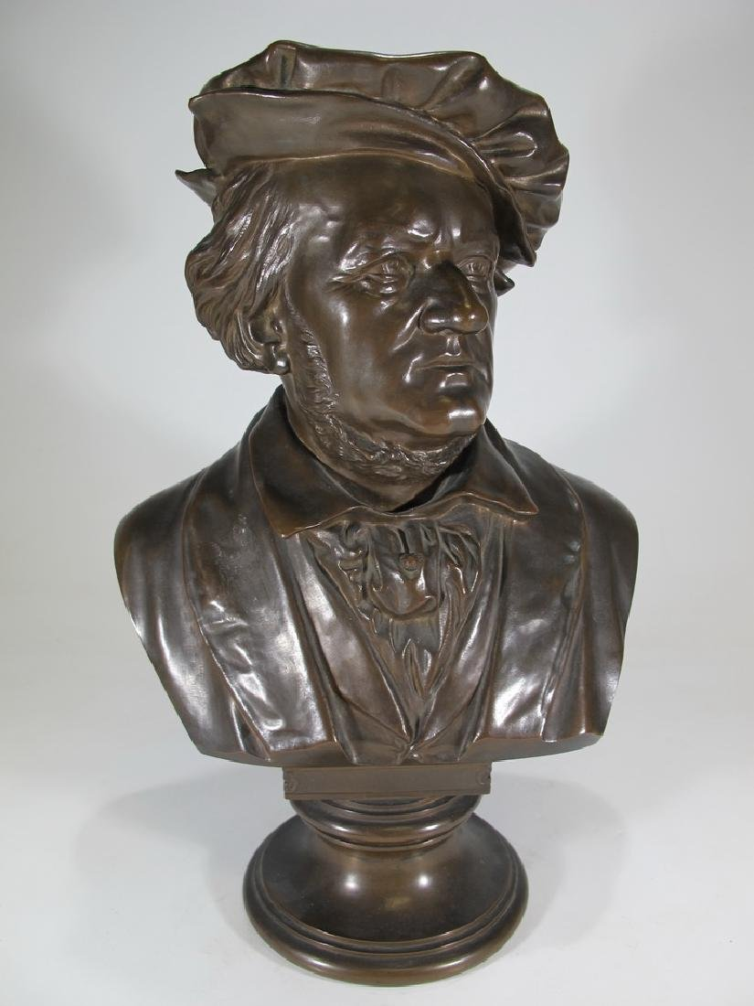 Waldemar UHLMANN (1840-1896) Wagner bust