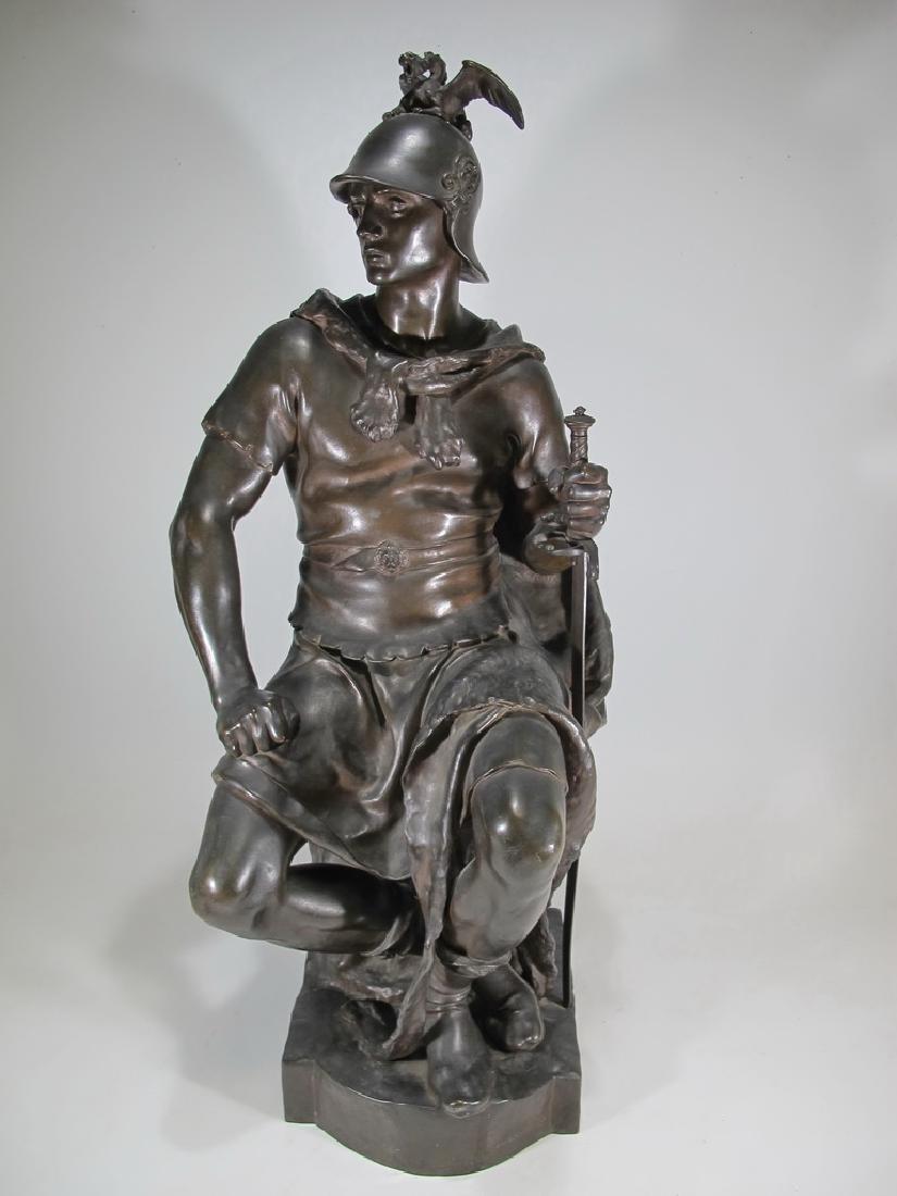 Paul DUBOIS (1829-1905) Barbedienne bronze sculpture