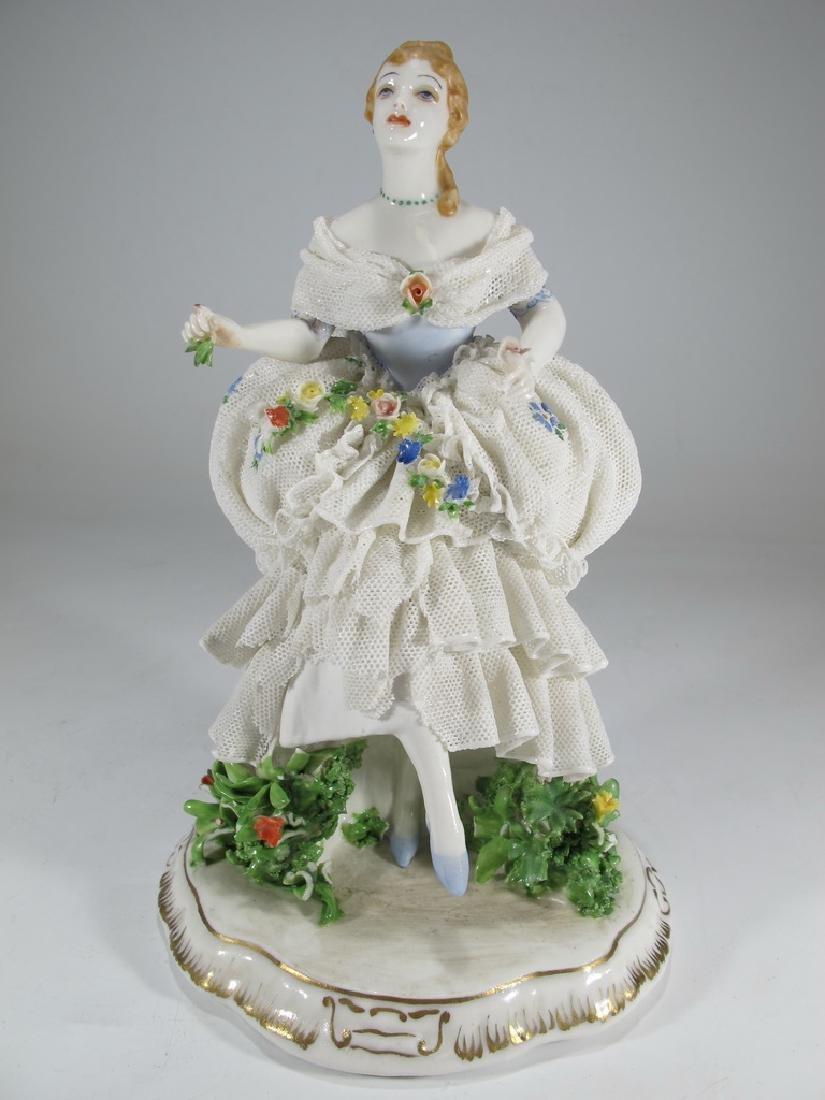 Probably German porcelain figurine