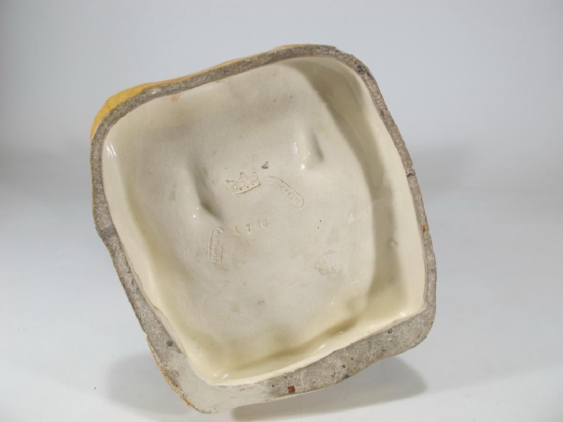 Antique Austrian Amphora porcelain man statue - 8