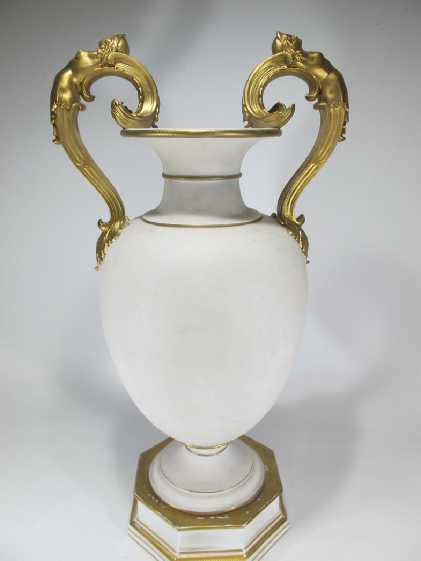 Antique German KPM porcelain urn - 7