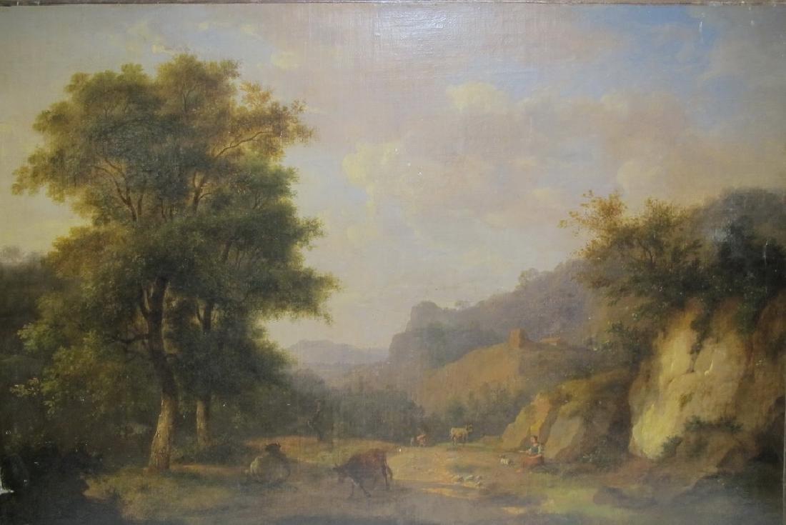 Auguste VANDESTEENE (1803-1870),  Belgian artist