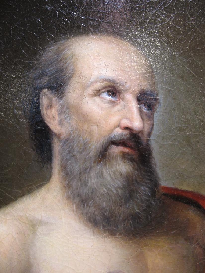 19th C European oil on canvas, Luis CADENA (1830-1889) - 3