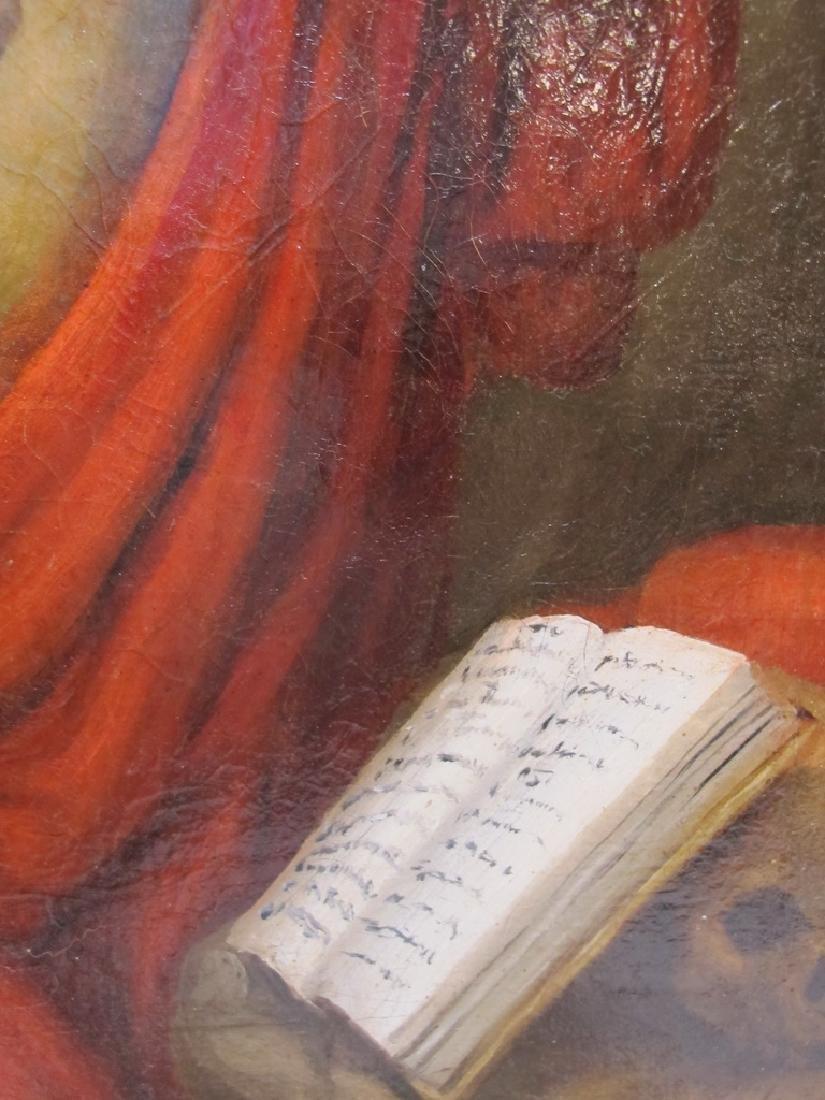 19th C European oil on canvas, Luis CADENA (1830-1889) - 5