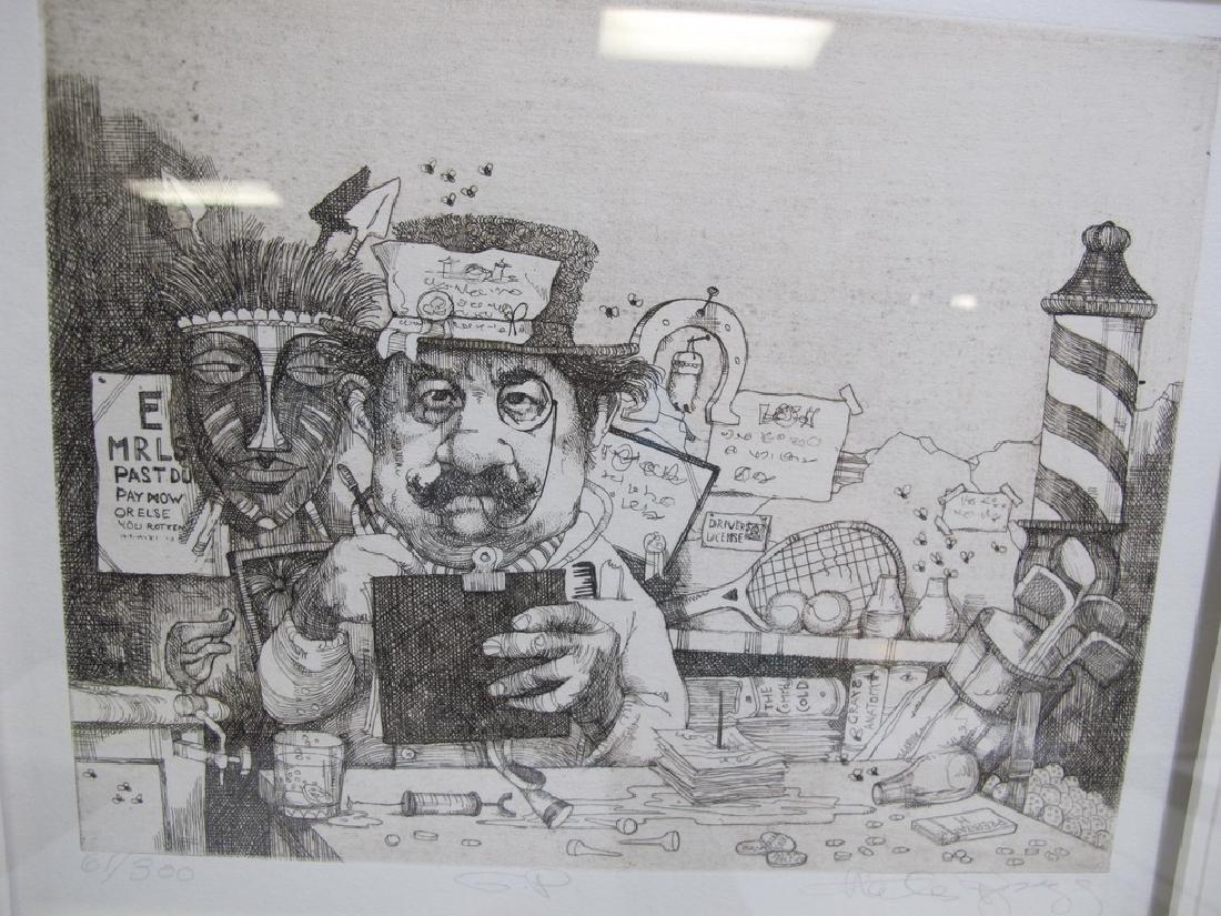 Charles BRAGG (1931-2017) 3 engravings - 2