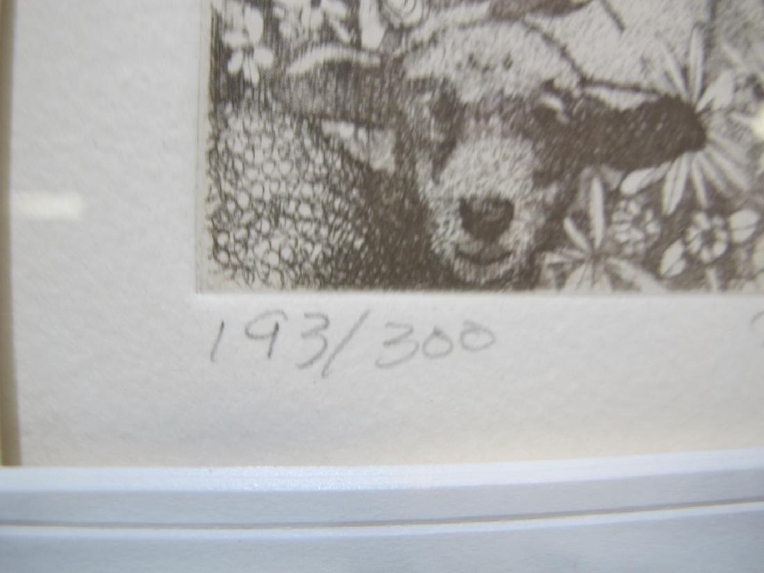 Charles BRAGG (1931-2017) 3 engravings - 6
