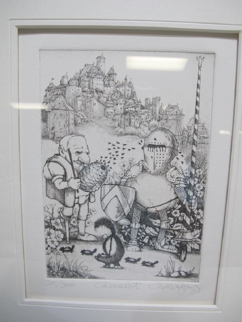 Charles BRAGG (1931-2017) 3 engravings - 7