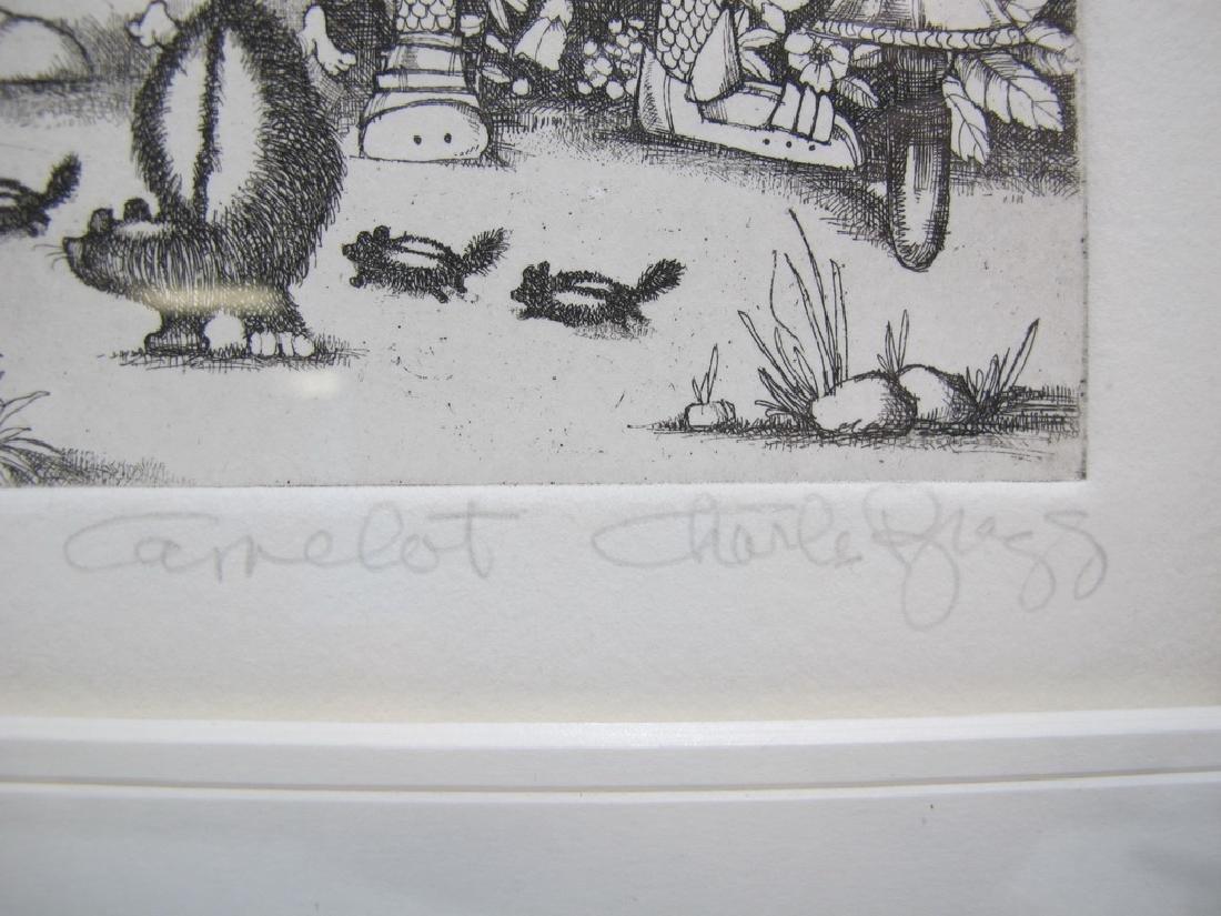 Charles BRAGG (1931-2017) 3 engravings - 8