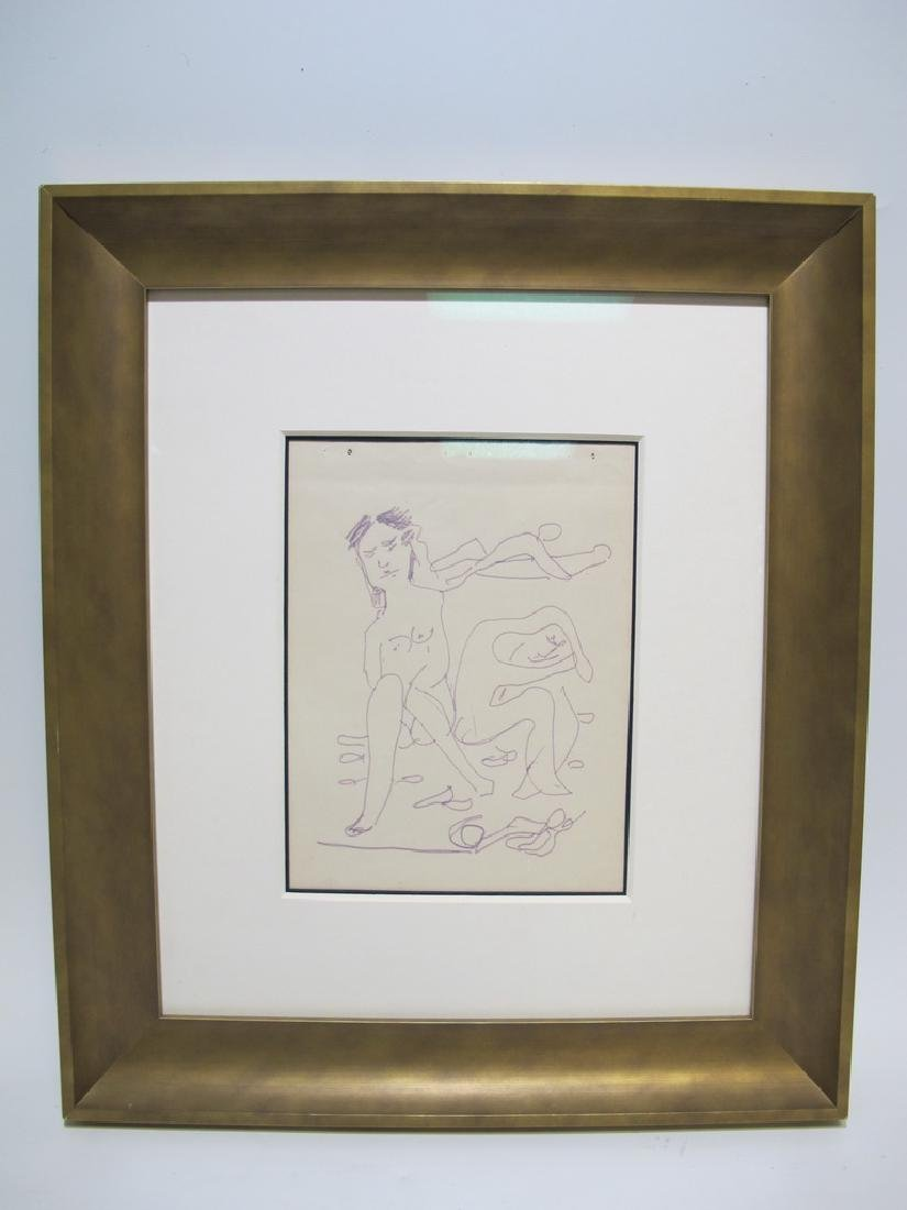 Mariano RODRIGUEZ (1912-1990) Cuban artist drawing