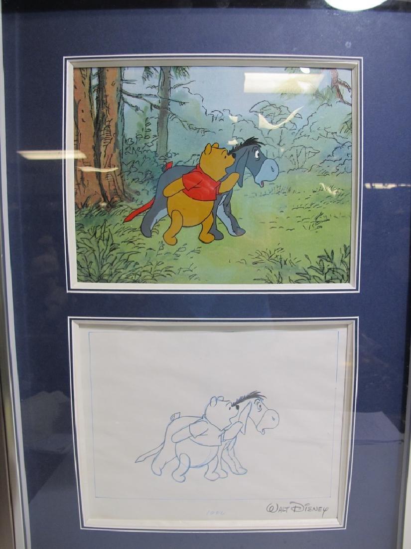 2 Disney art sells of Winnie the Pooh drawings - 2
