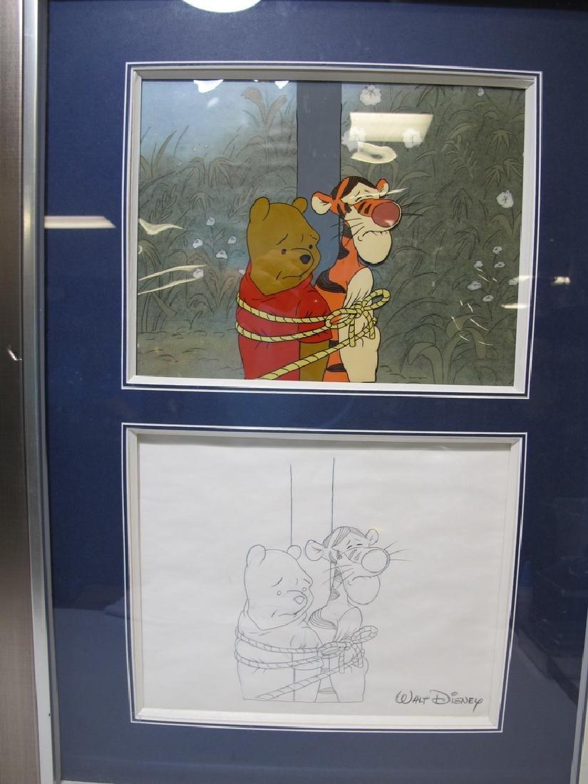2 Disney art sells of Winnie the Pooh drawings - 3