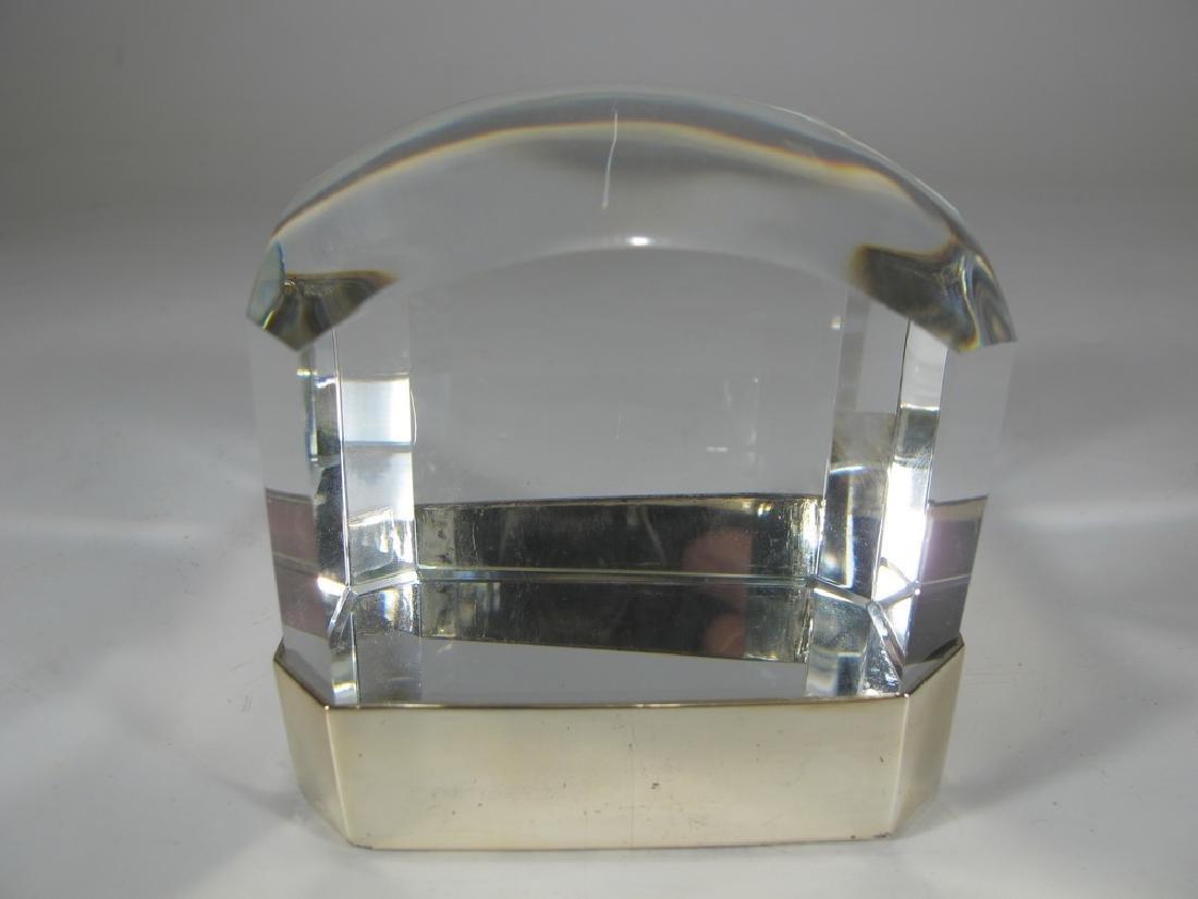 Ralph Lauren metal magnifying square lens - 2