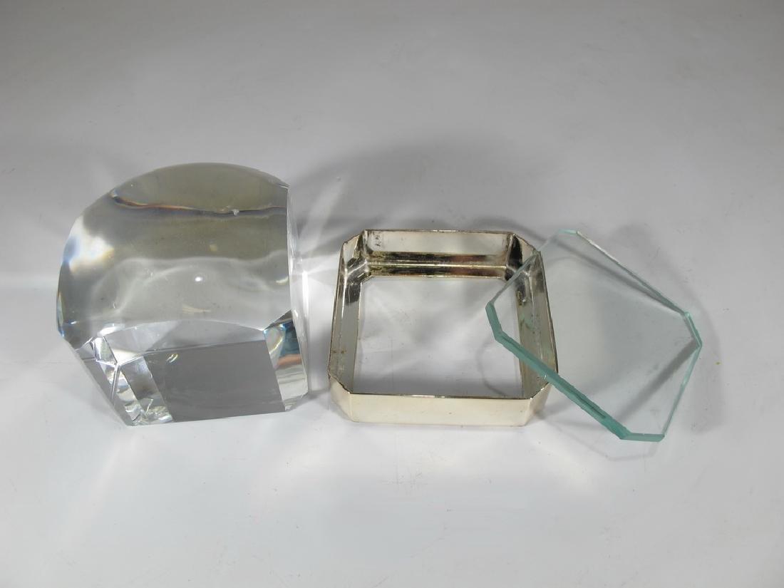 Ralph Lauren metal magnifying square lens - 3