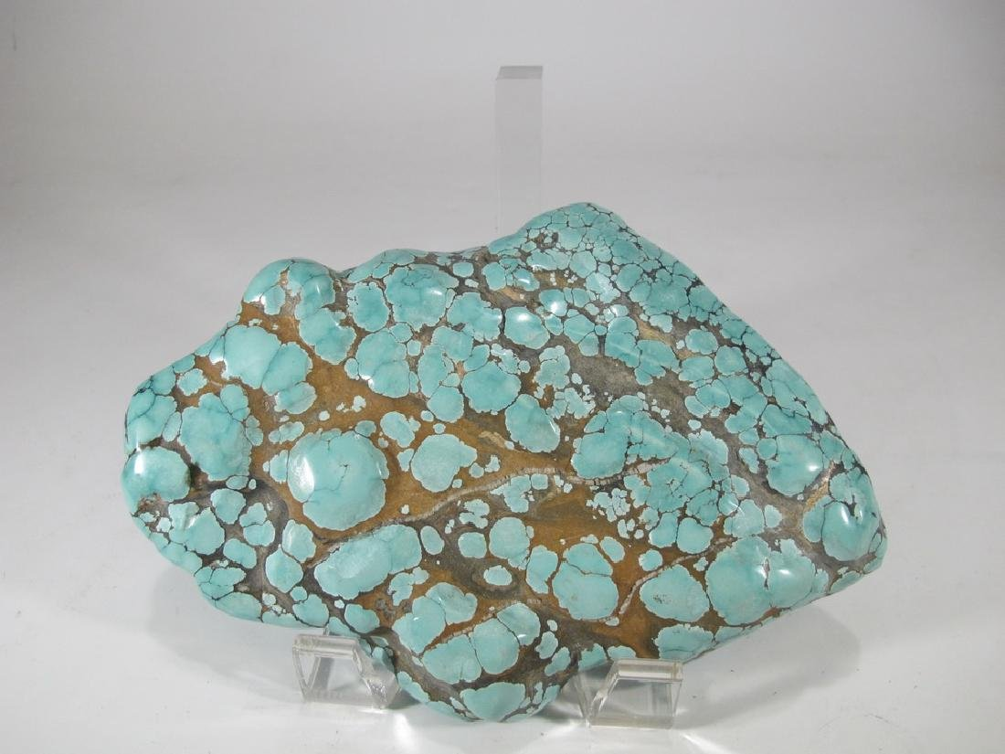Great turquoise rock