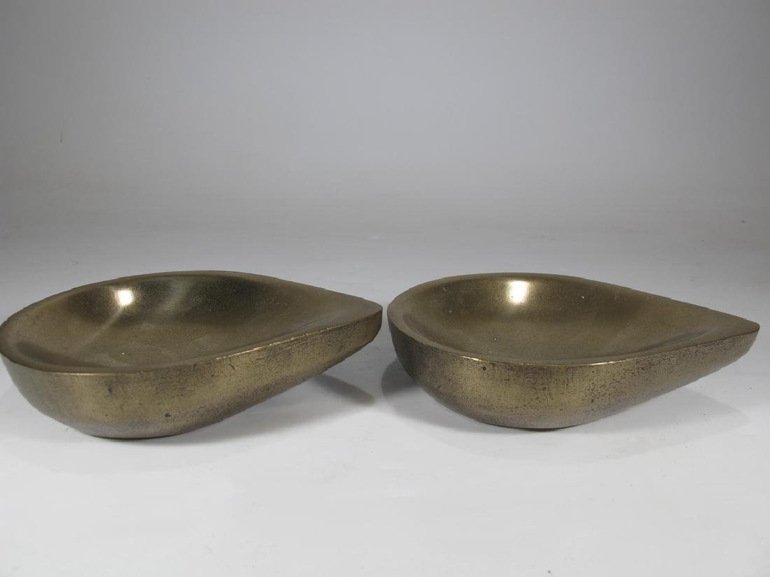 Pair of Haulenbeek Holly Hunt bronze sculptures - 3
