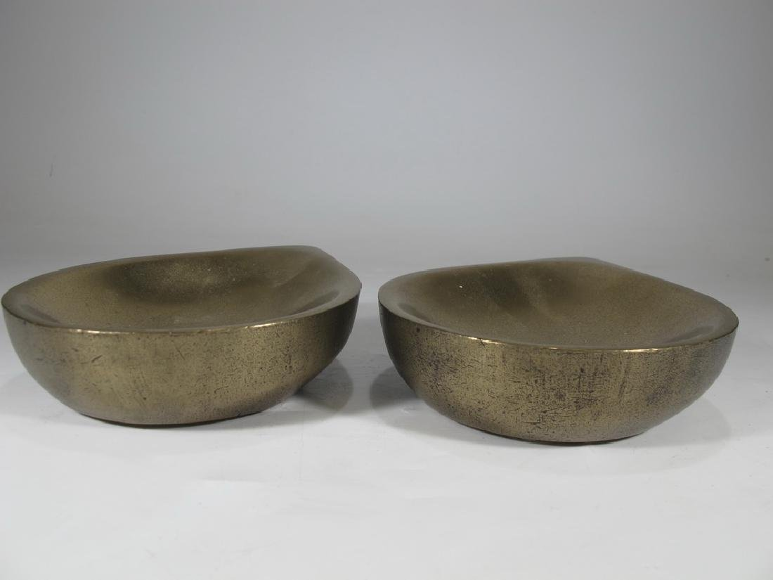 Pair of Haulenbeek Holly Hunt bronze sculptures - 4