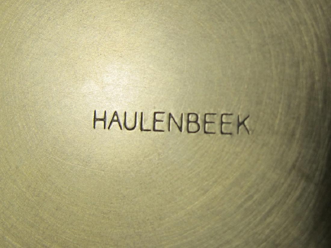 Pair of Haulenbeek Holly Hunt bronze sculptures - 6
