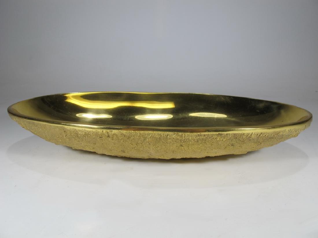 Jonathan Adler, India solid bronze bowl