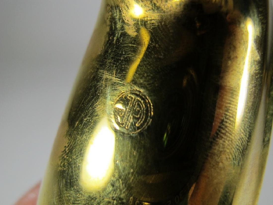 Jonathan Adler, India Dachshund Dog solid bronze bowl - 6
