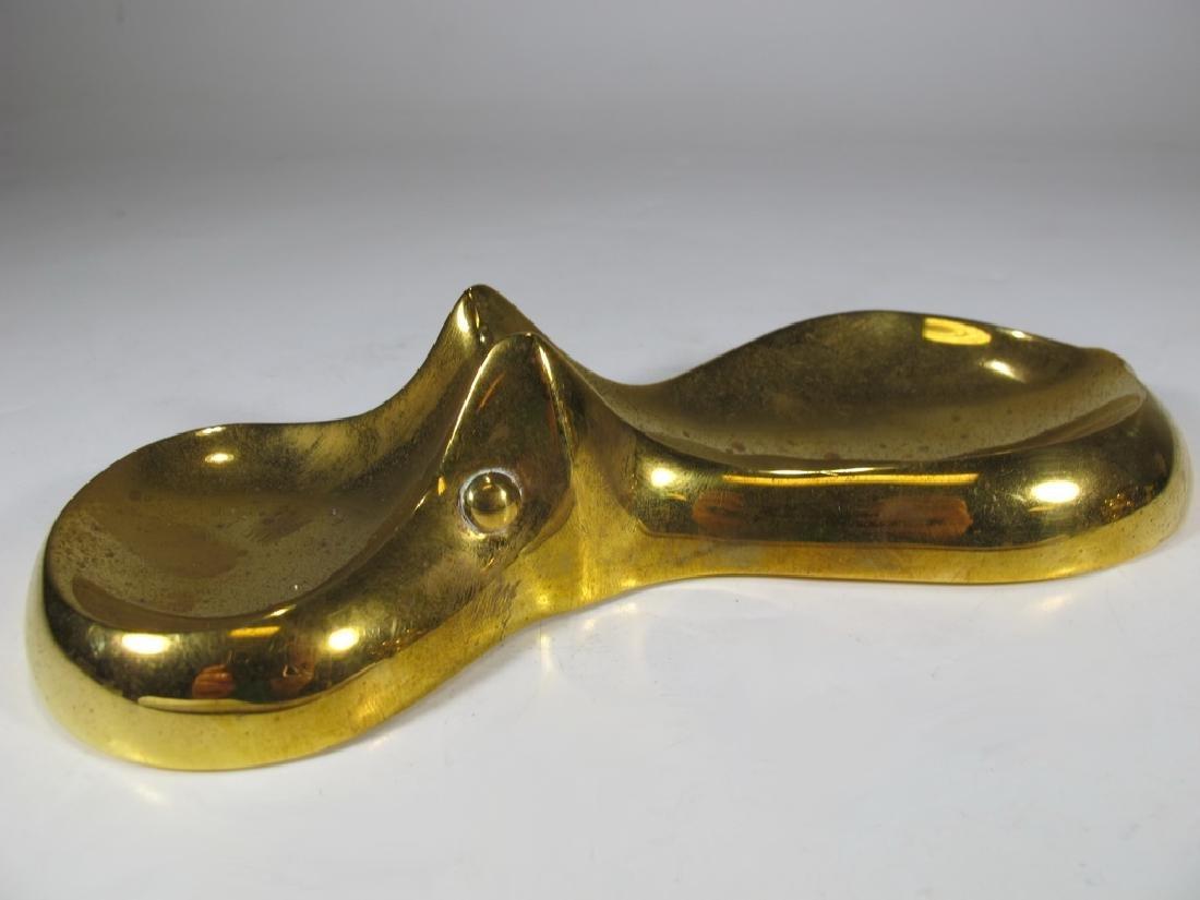Jonathan Adler, India solid bronze swimming hipo dish - 4