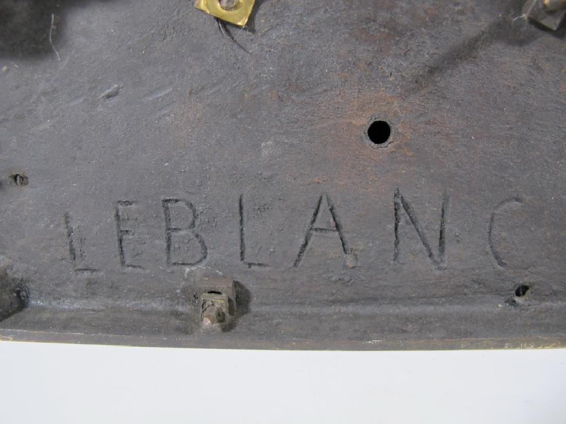 Signed Leblanc, 19 th C French bronze statue - 10
