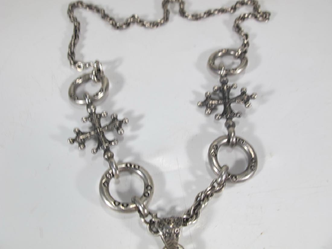 Peruzzi, Boston sterling Saint Paul necklace - 3