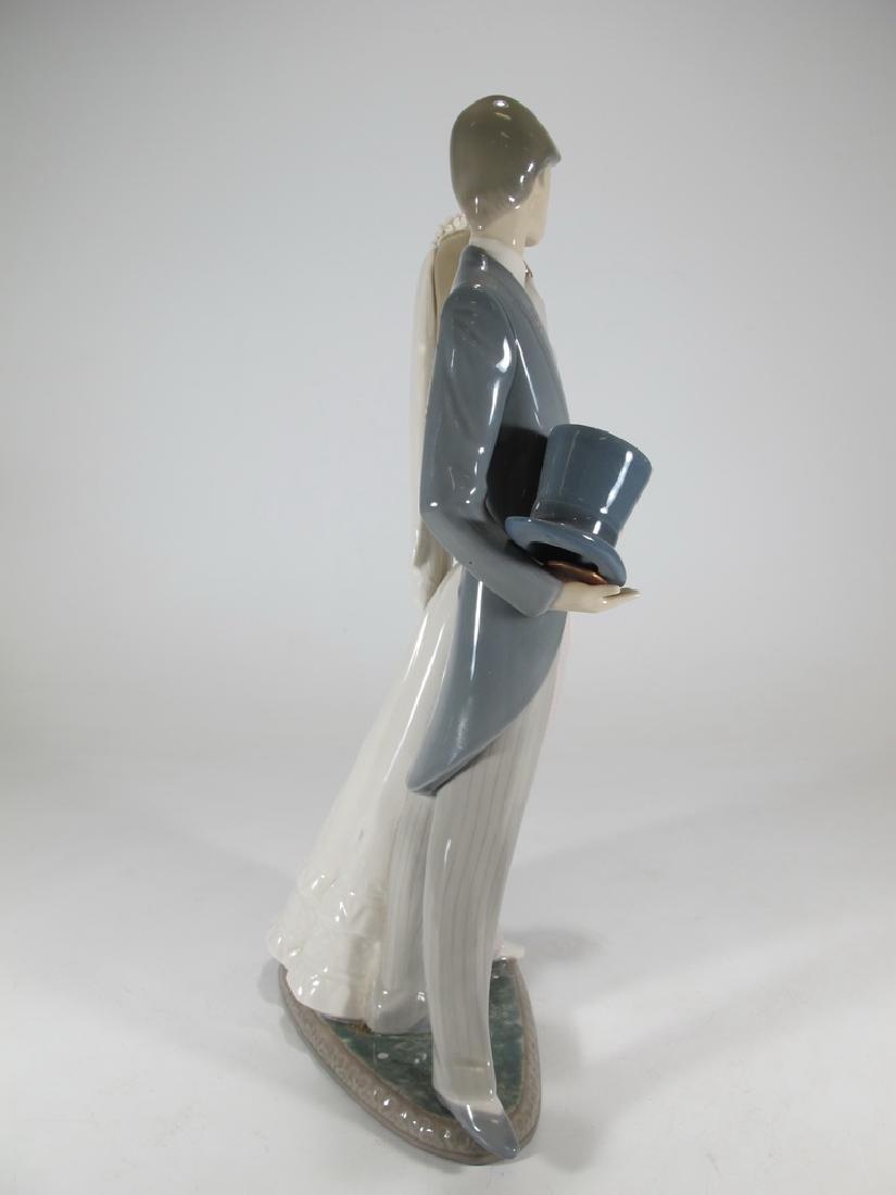 Lladro couple wedding porcelain statue - 6