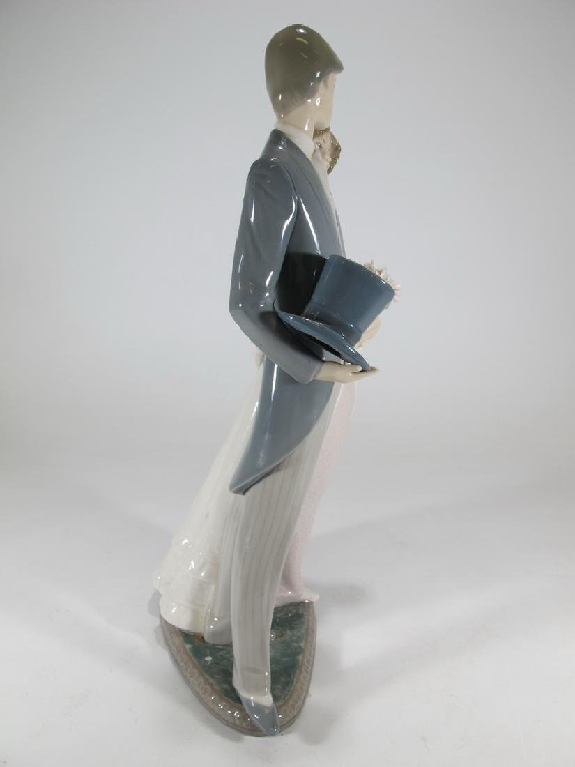 Lladro couple wedding porcelain statue - 7