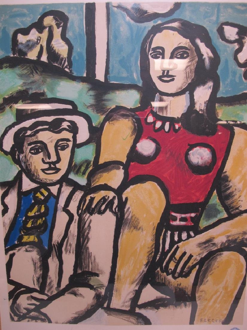 Atelier Mourlot Collection Leger serigraph - 2