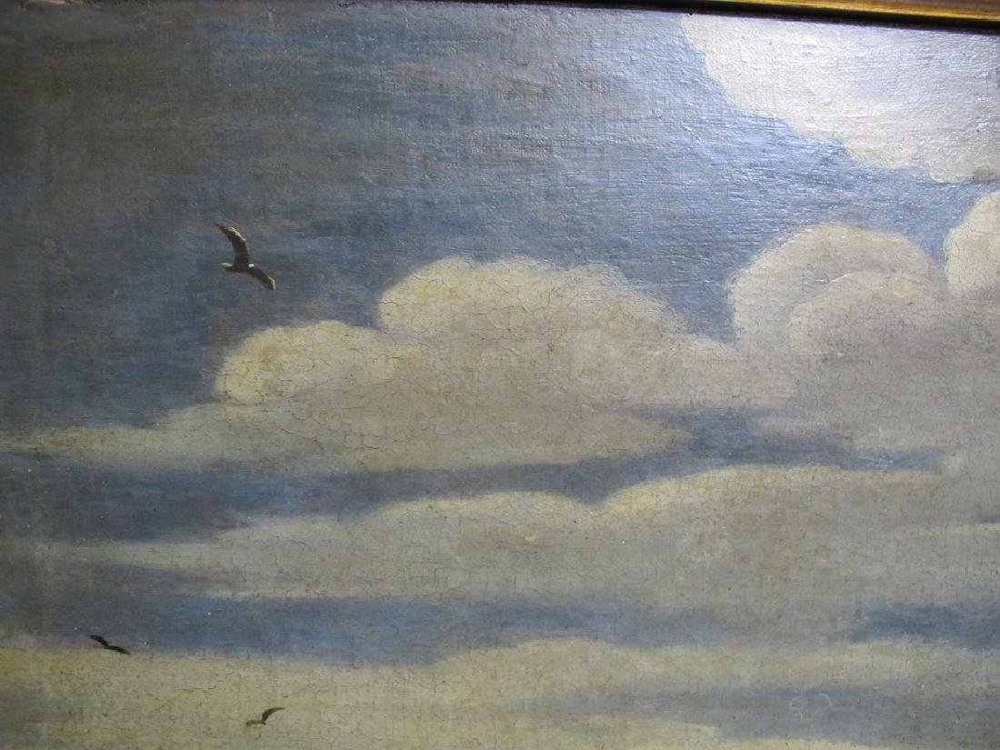 18th/19th C. European oil on canvas painting - 4