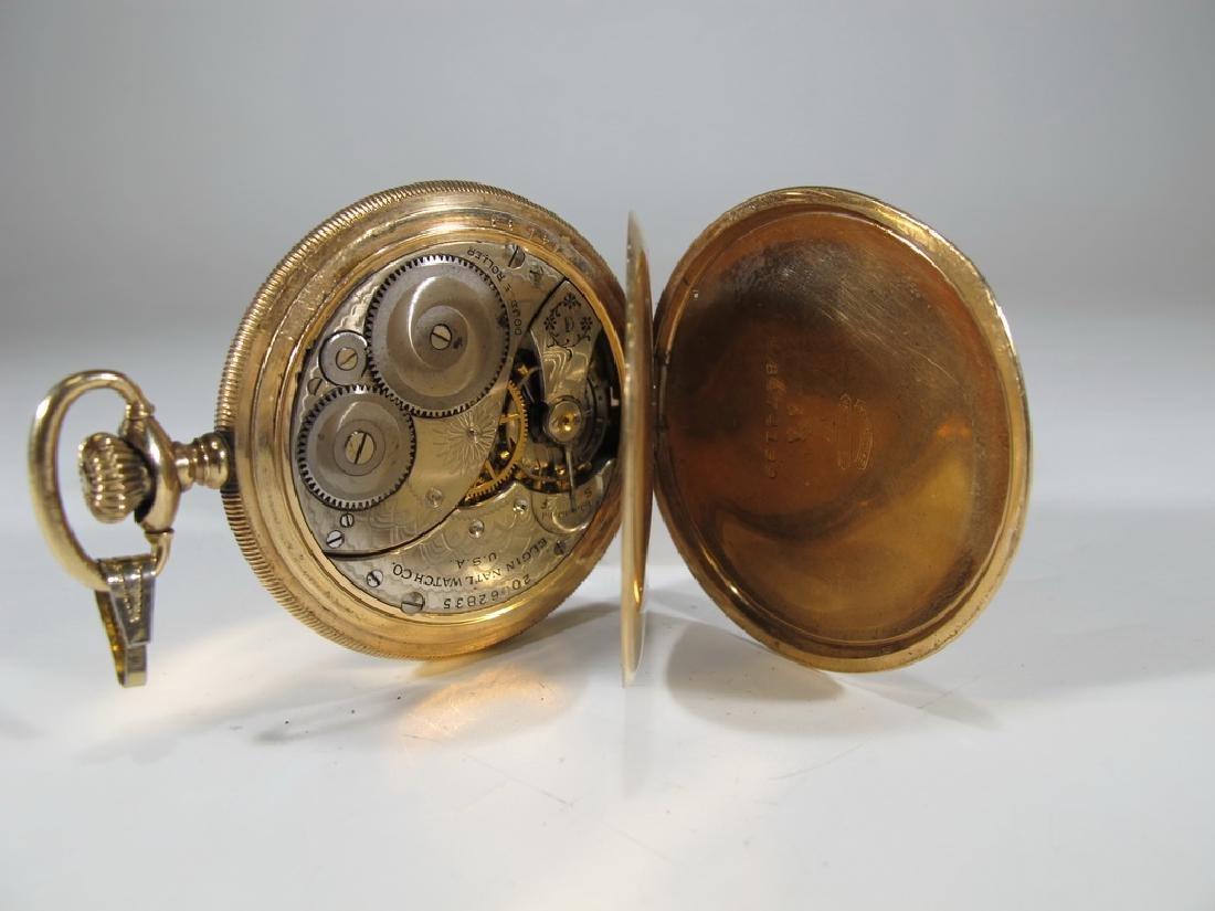 Vintage Elgin GF pocket watch - 3