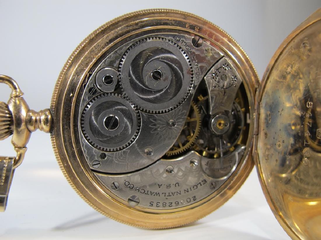 Vintage Elgin GF pocket watch - 4