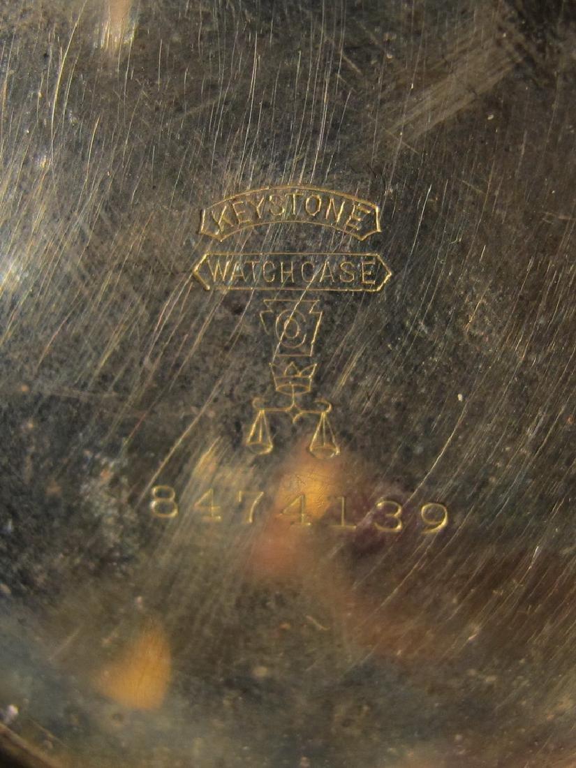 Vintage Elgin GF pocket watch - 7