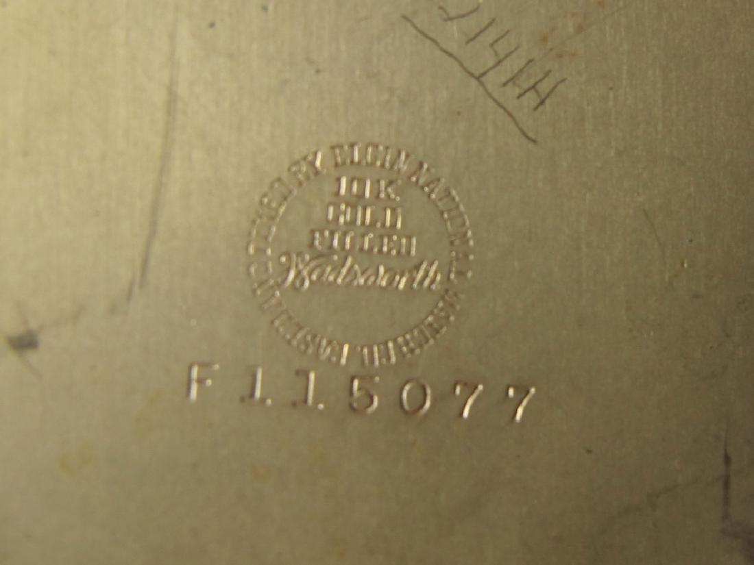 2 Elgin & Waltham 10k & 14k GF pocket watches - 8