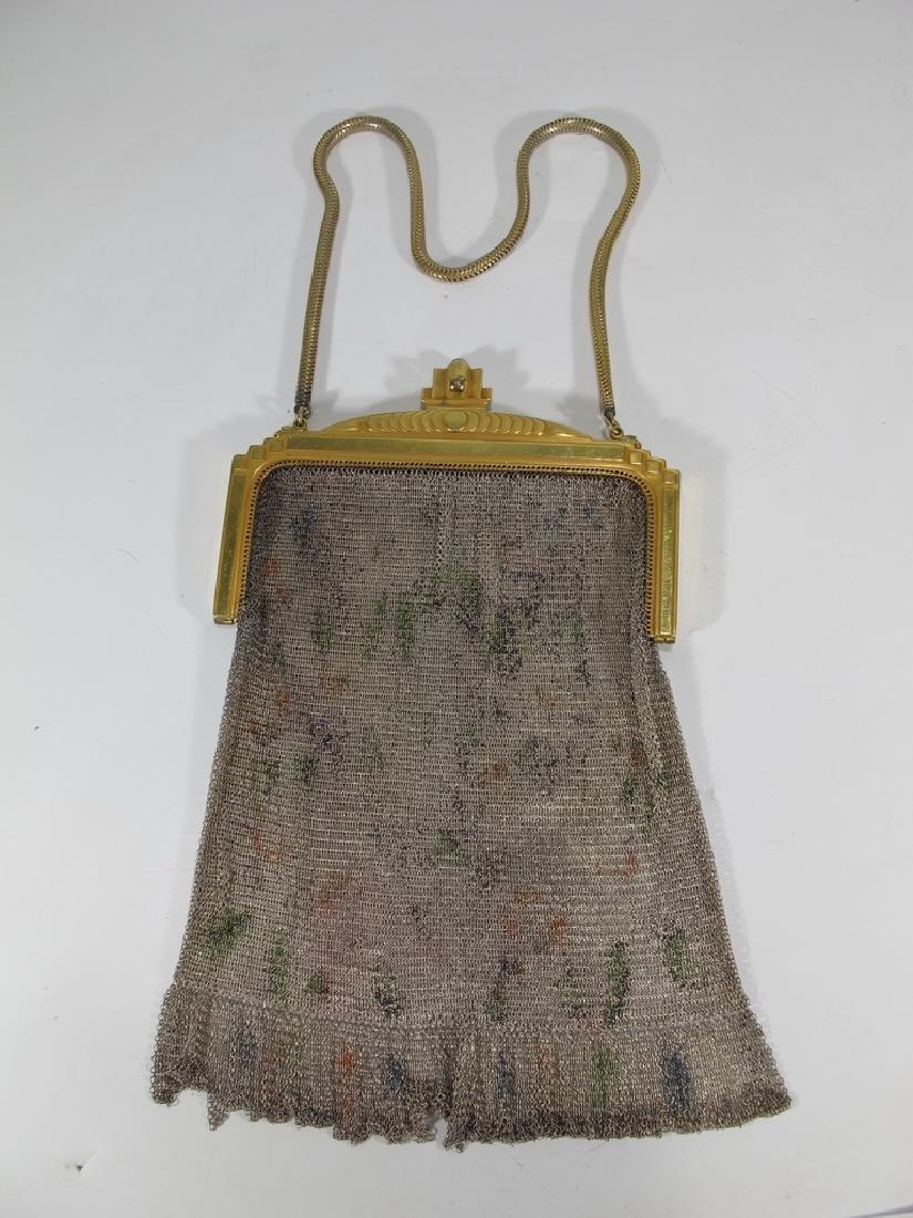 Antique Whiting & Davis Co Mesh bag