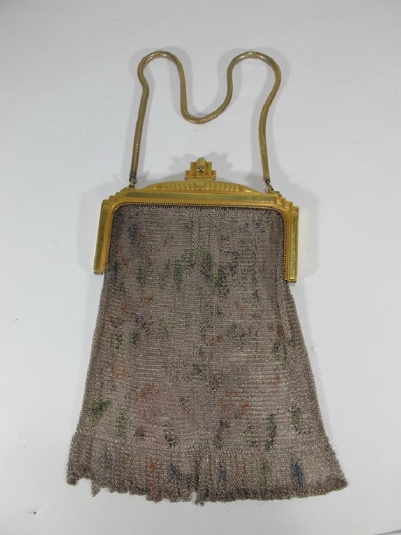 Antique Whiting & Davis Co Mesh bag