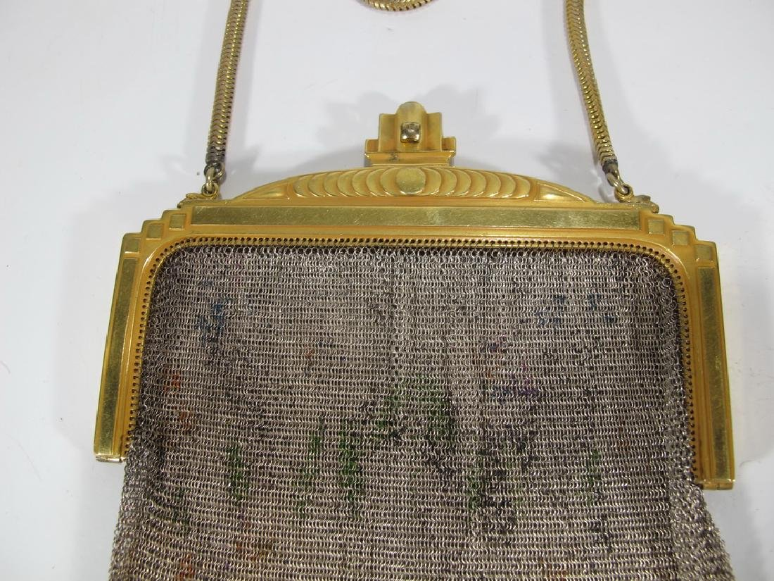 Antique Whiting & Davis Co Mesh bag - 2