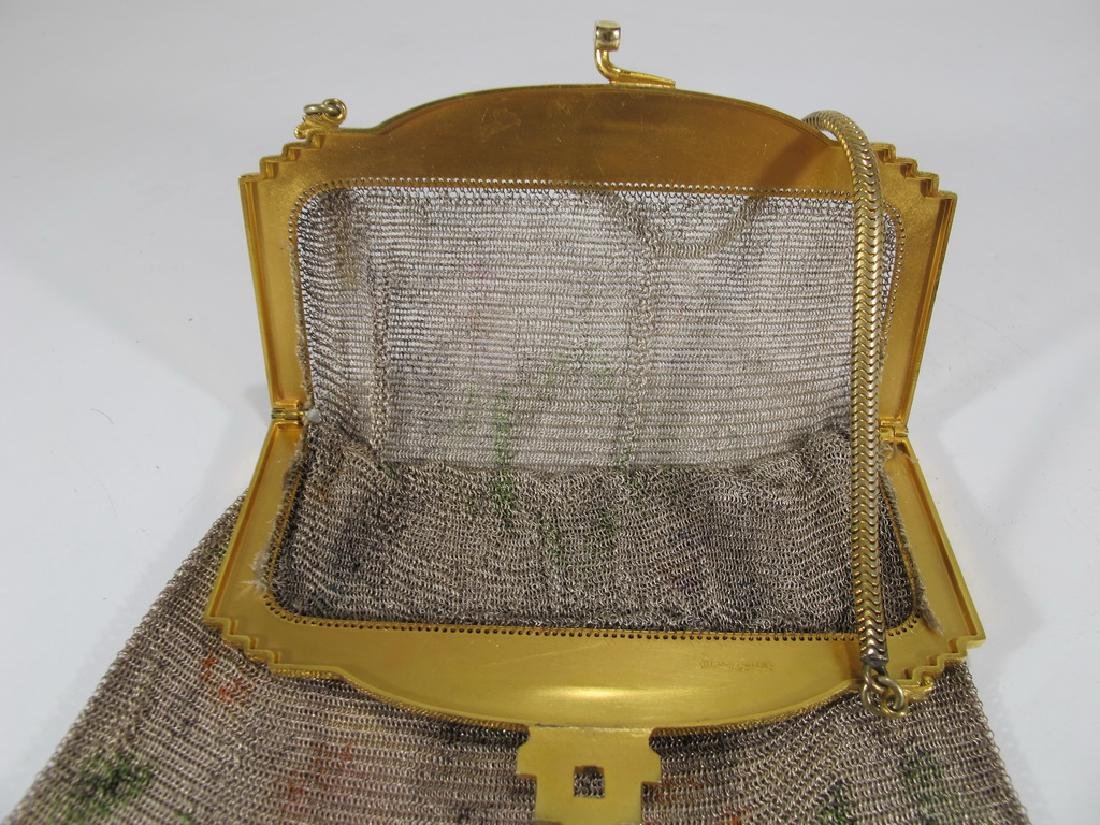 Antique Whiting & Davis Co Mesh bag - 5